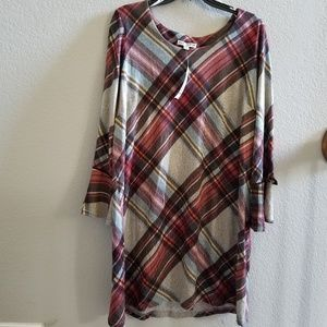 Madison Leigh Plaid Dress